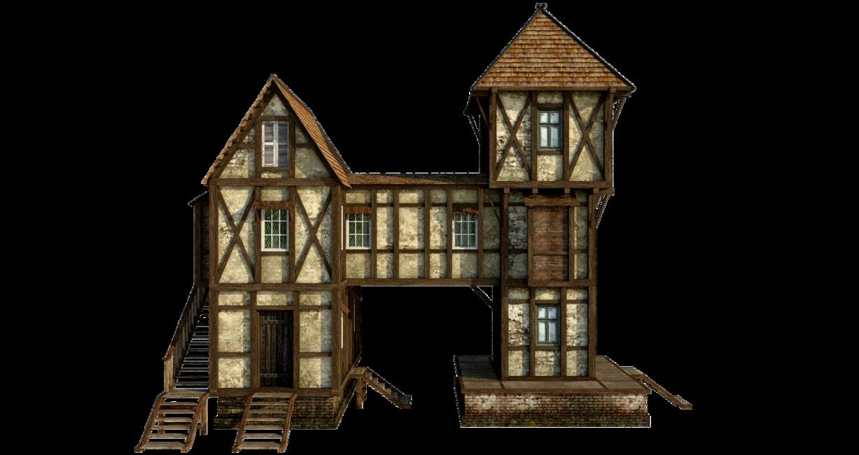medieval house 1 png by fumar porros banque image batiments m di vaux pinterest medieval. Black Bedroom Furniture Sets. Home Design Ideas