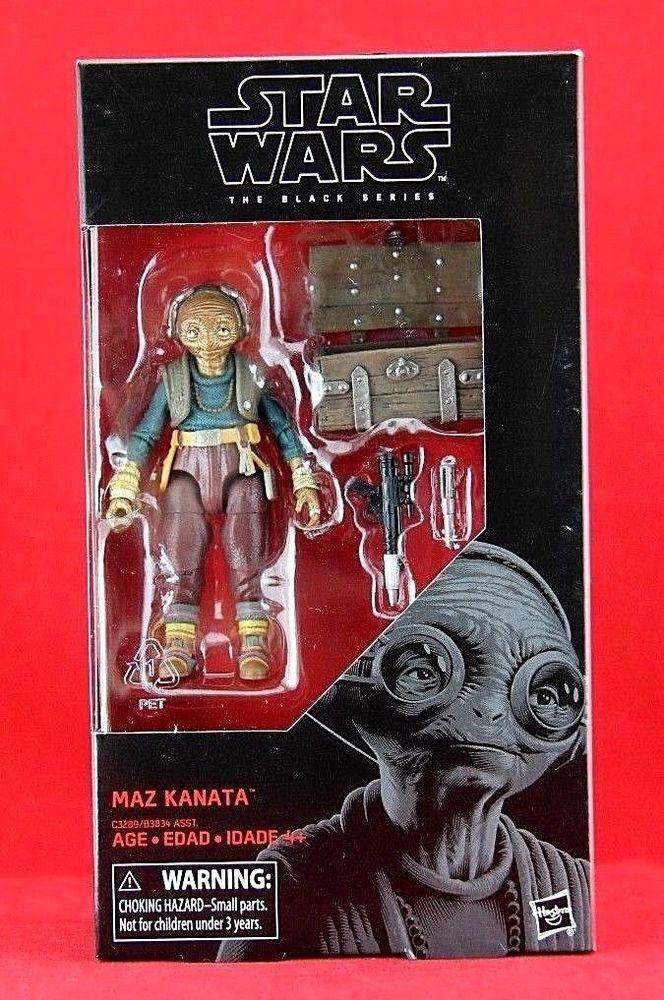 "MIB Star Wars the Black Series The Last Jedi Maz Kanata #49 6/"" Action Figure"