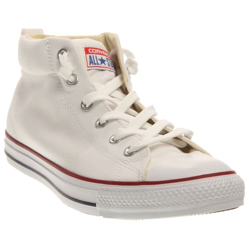 Details about CONVERSE ALL STAR CHUCK TAYLOR STREET MID MASON GRAYBLACKWHITEBLUE MEN SIZES