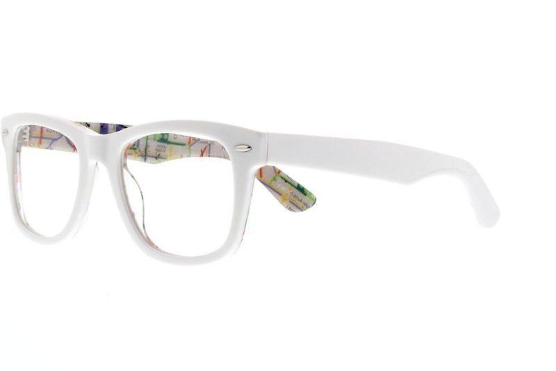 a2c30aa7bd0 White Bold Square Eyeglasses  638730