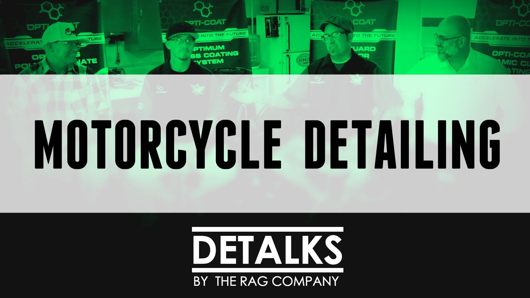 Motorcycle Detailing Tips & Tricks - [DeTalks] #autodetailing #detailing #mobiledetailing #cardetailing #cars