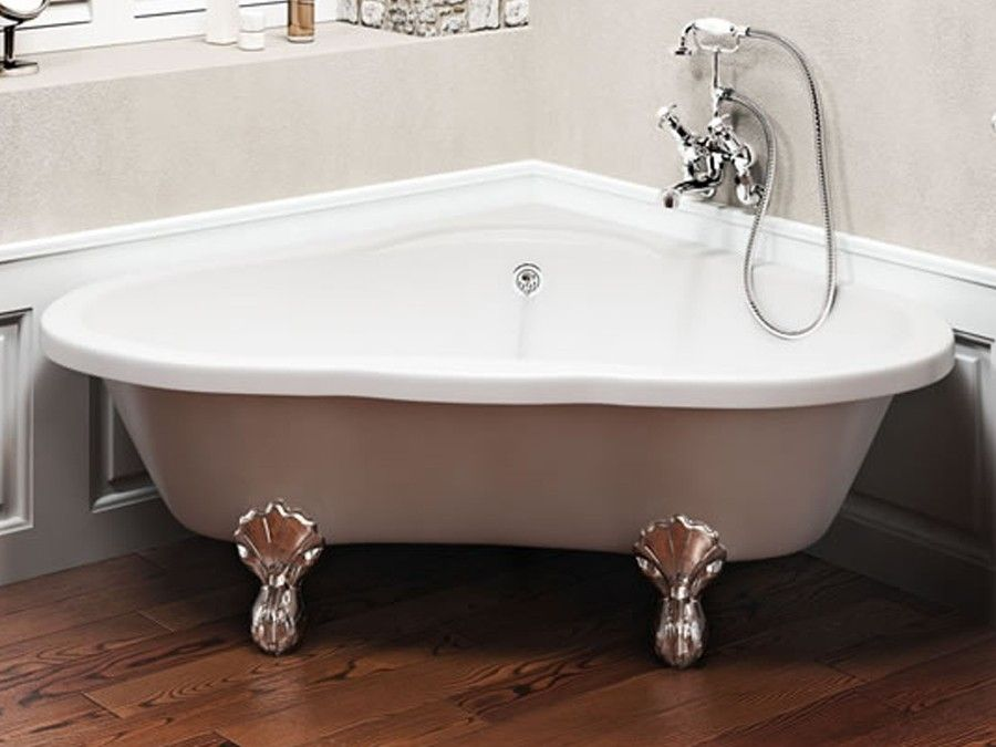 Freistehende Badewanne Fur 2 Personen Eckbadewanne Kleines Haus