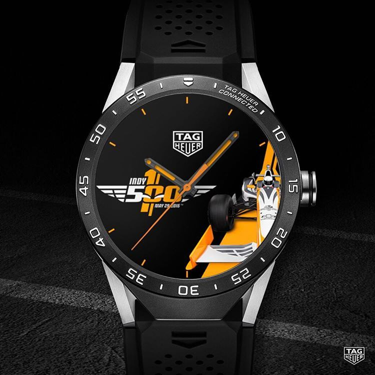 The new IndianapolisMotorSpeedway watchface is now