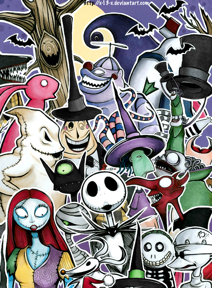 The Nightmare Before Christmas by *x-13-x on deviantART ...