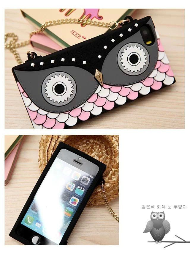 custodia iphone con catenella