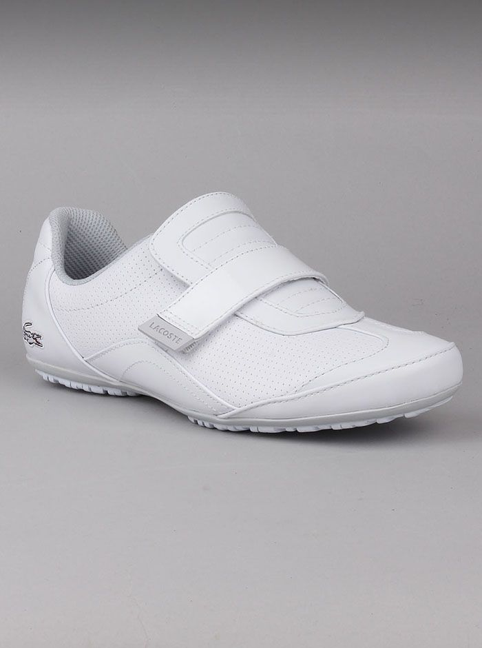 Lacoste® Natasia Women's White Shoes. These sporty womens shoes by Lacoste  are great to