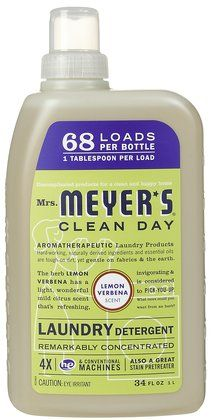 Mrs Meyer S Clean Day Concentrated Laundry Detergent Lemon
