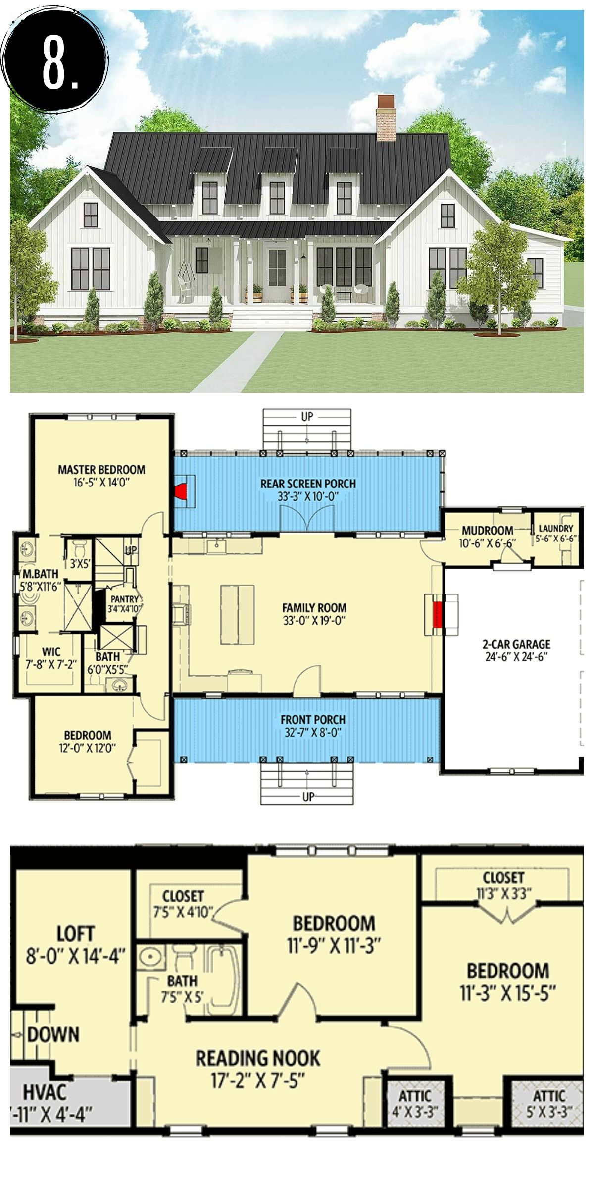 17+ Farmhouse plans ideas