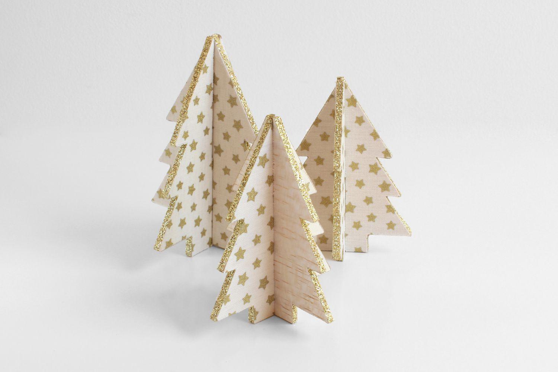 Mini Balsa Wood Christmas Trees Jpg 1500 1000 Wood Christmas Tree Christmas Diy Wood Christmas Decorations