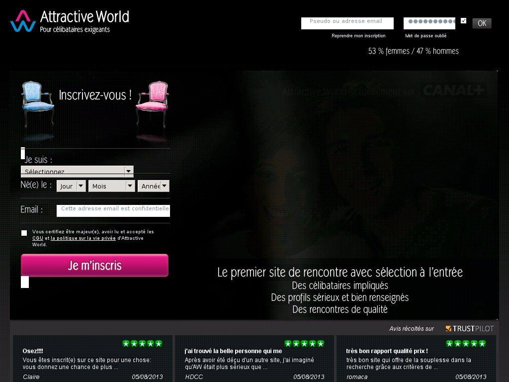 attractive world site de rencontre gratuit)