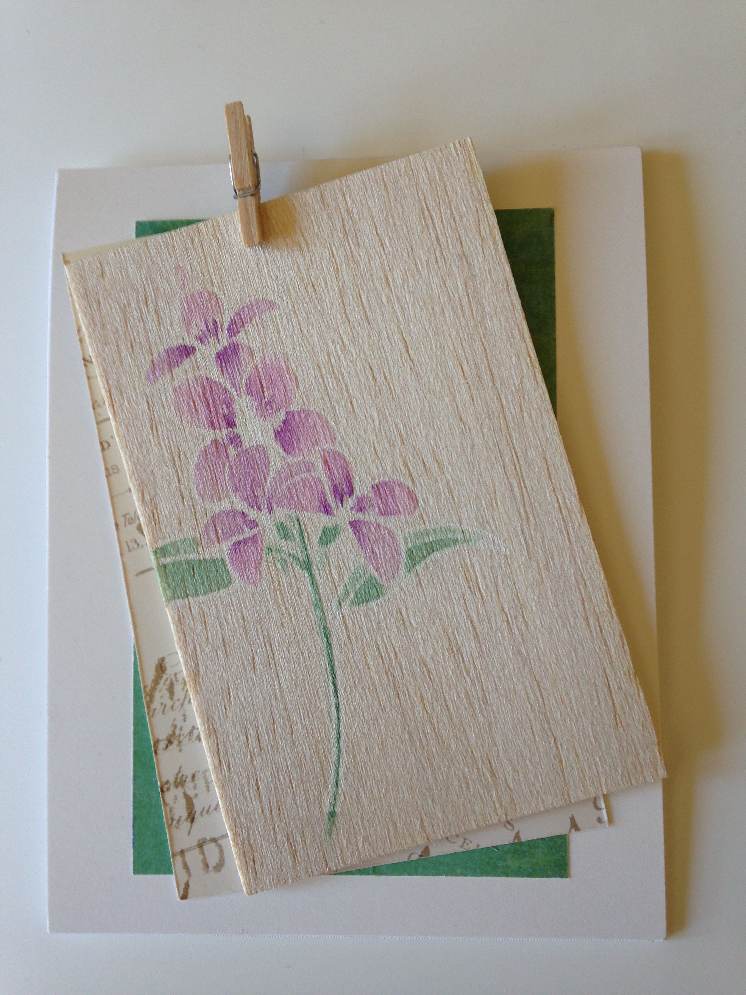 Clearly besotted fresh flowers stamp bolas wood coloured with clearly besotted fresh flowers stamp bolas wood coloured with derwent inktense pencils handmade cas birthday card thank you card anniversary card izmirmasajfo