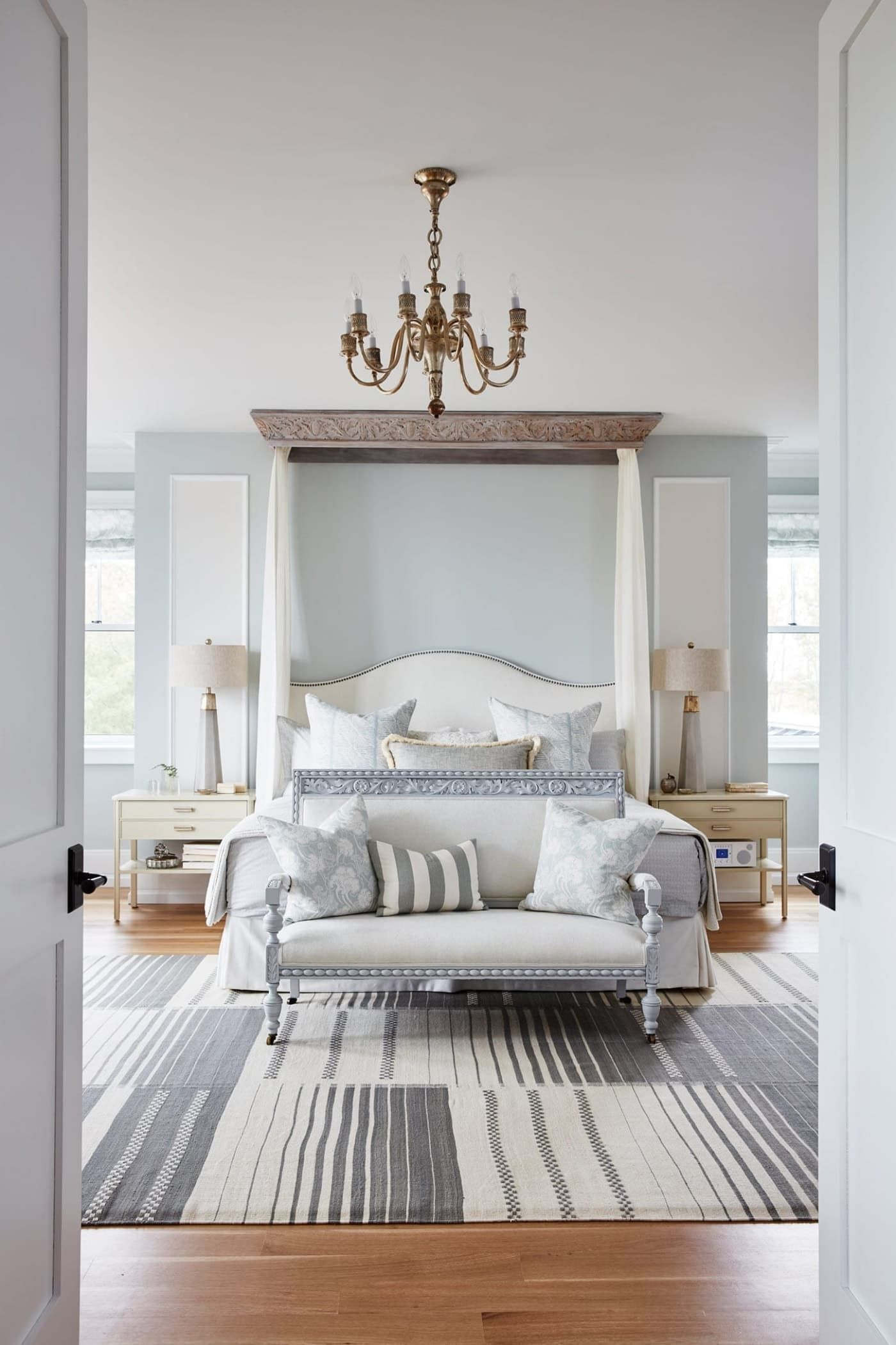Traditional Design And Classic Decor In A Bedroom By Sarah