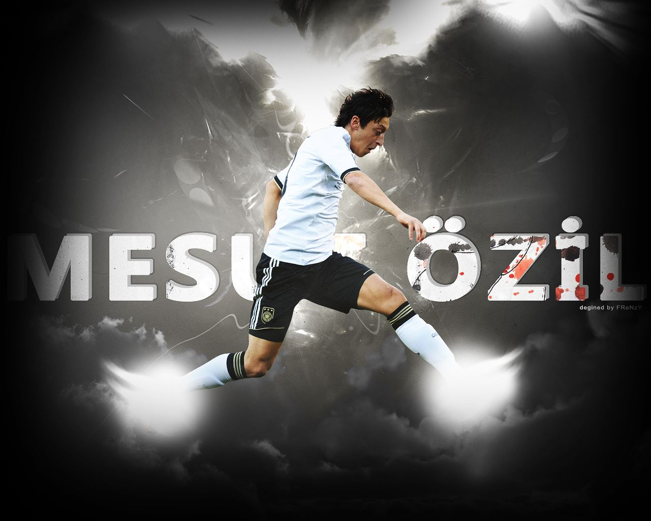 Mesut Ozil Football Players Clint Dempsey Latest Hd Wallpapers