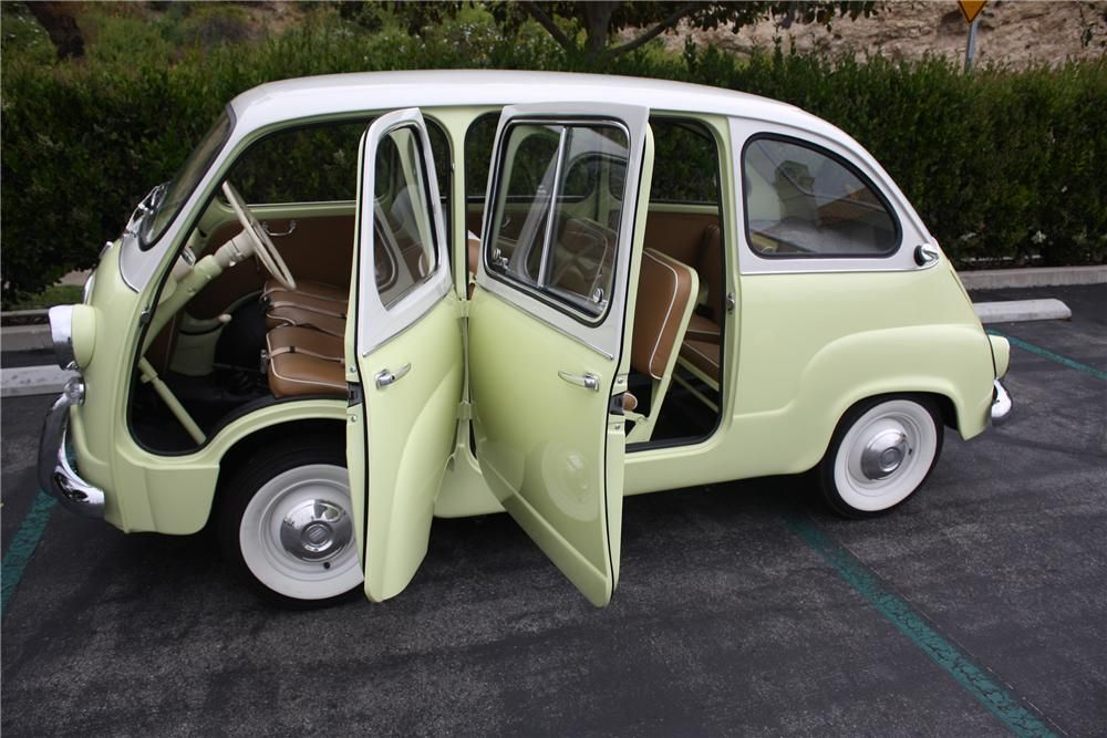 1959 Fiat Multipla Model 600 Van Micro Car Barrett Jackson