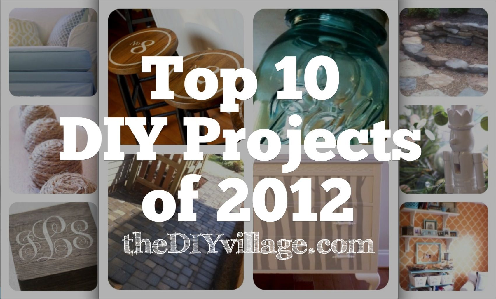 Top 10 do it yourself projects of 2012 craft crafty and diy ideas top 10 diy projects of 2012 by thediyvillage solutioingenieria Choice Image