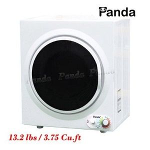Panda Compact Portable Dryer.  Cut drying time in half & use less energy with a portable clothes dryer that plugs into a standard wall outlet.