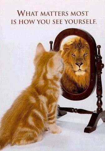 The lion within......Think Big!
