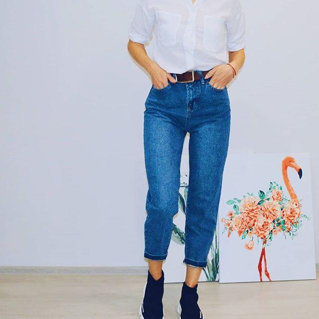 в наличии джинсы  Размер 42-44 Цена 1480  Доставка по всей России  . . . . . Активная ссылка в шапке профиля #джинсы#одежда #jeans #f4f #подзаказ #заказ #мода #фото #фотовживую #фотовреале #вналичии #vsco #vscocam #vscorussia #fashion #style #нефтекамск #иваново #outfit #outfitoftheday #instagood #вналичииbs #онлайнмагазин #уфа #казань#ижевск #шоуруммосква #шоурум #женскаяодежда #распродажа
