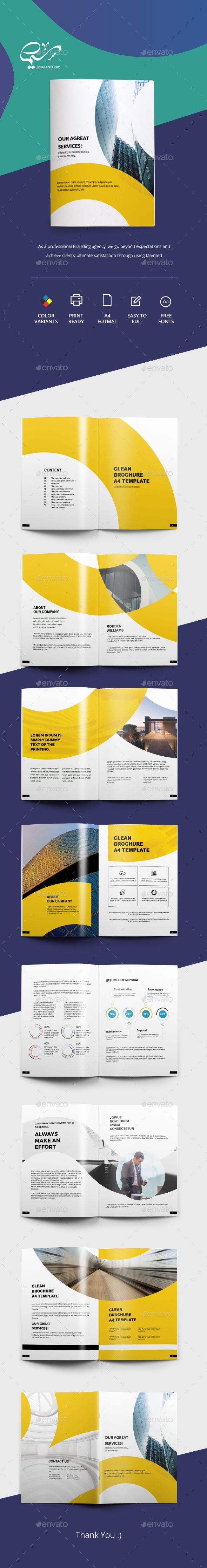 Business Brochure | Tríptico, Folletos y Diseño editorial