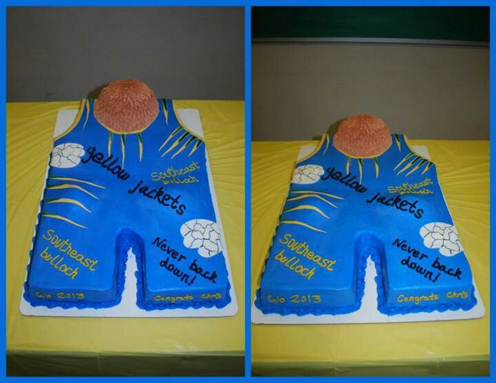 High School Wrestling Cake With Images Wrestling Birthday