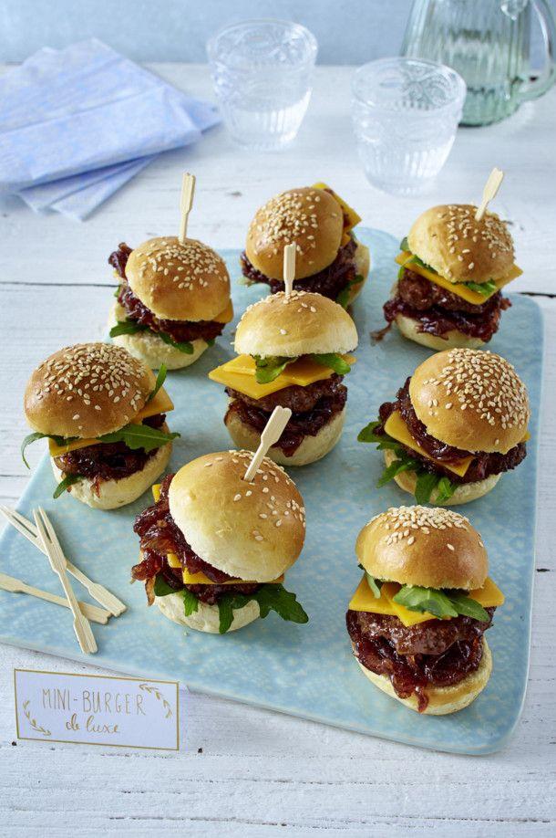 mini burger rezept gastlichkeit faschingsrezepte pinterest burger mini burger und essen. Black Bedroom Furniture Sets. Home Design Ideas