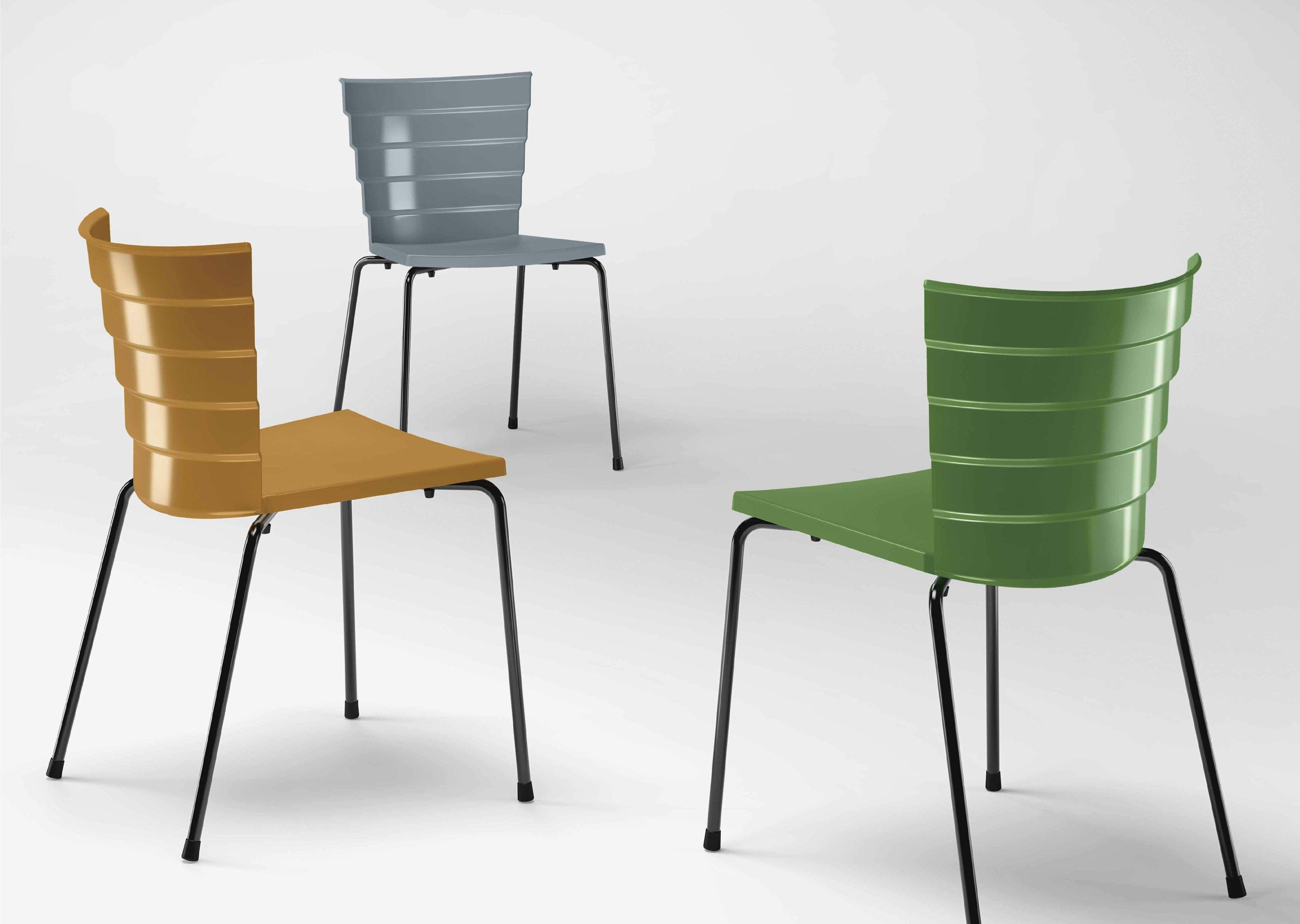 Metalmobil Sedie ~ Collezione sedie design marè metalmobil metalmobil