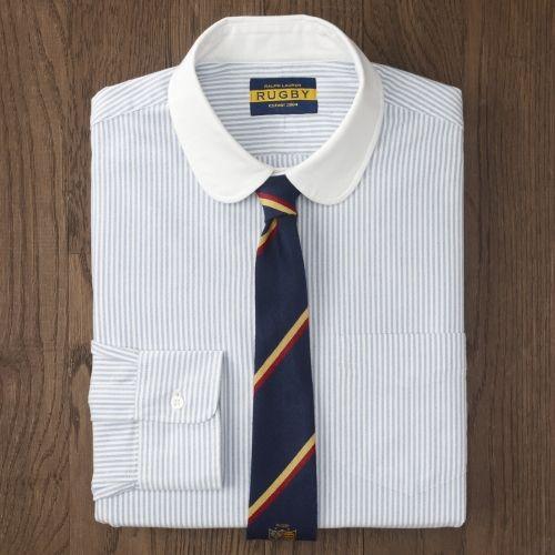 0060683629c3 Ralph Lauren Club Collar Oxford