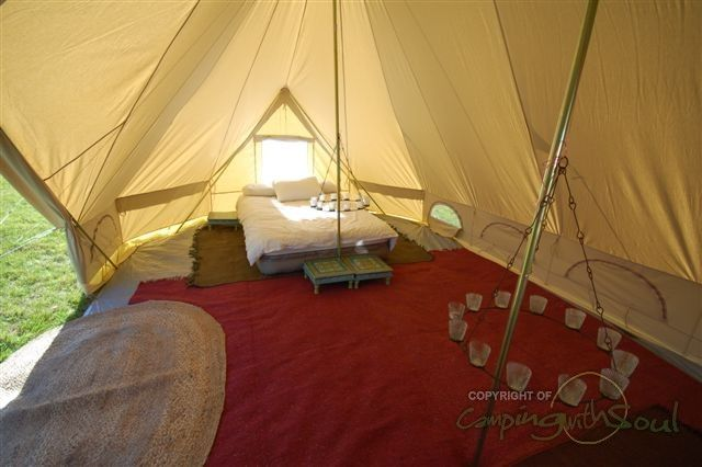 Emperor Bell Tent - A bell tent on steroids! & Emperor Bell Tent - A bell tent on steroids! | Gypsies Tramps and ...