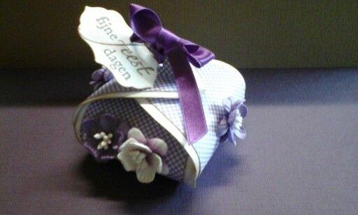 Cadeau doosje gemaakt met  box art pumpkin 470.713.014 gemaakt door Thea Bemelmans