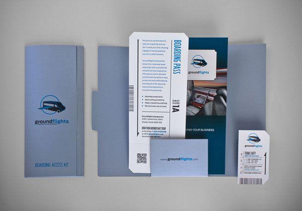 Clean Modern Brochures Examples  Brochure Examples Press