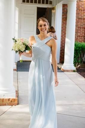 Azazie Bridesmaid Dress Kaleigh In Chiffon Find The Perfect Made To