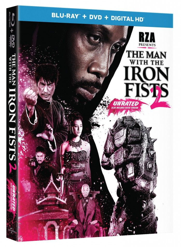 The Man With the Iron Fists 2 starring RZA Blu-ray cover art #filmfetish #blvdwarriors