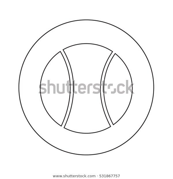 Tennis Ball Icon Illustration Design Stock Vector Royalty Free 531867757 Icon Illustration Illustration Design Stock Images Free