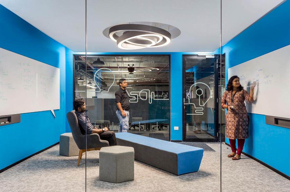 A Tour of TiVo's Cool New Bengaluru Office | meeting | Tours