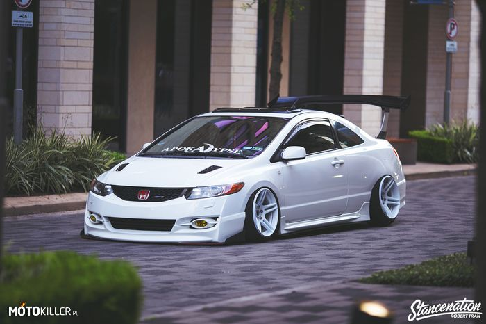 Honda Civic white #modified #custom #9th Gen ♠... X Bros Apparel Vintage Motor T-shirts, New and Classic Honda Civics, VTECH cars, Great price… ♠♠