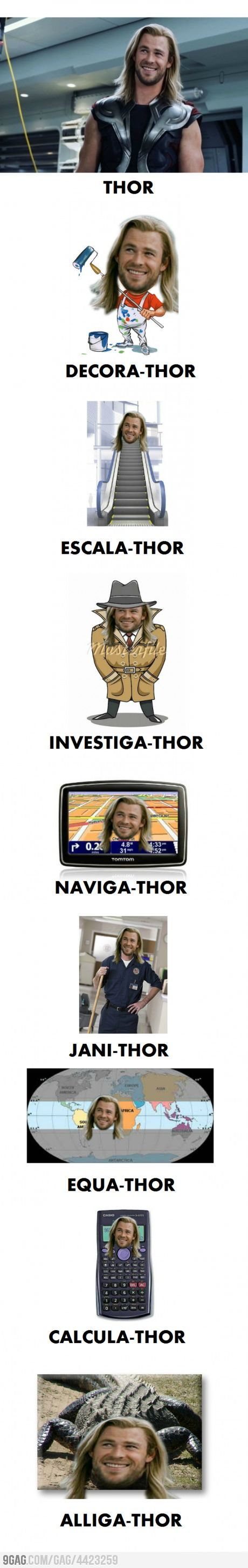 More of Thor