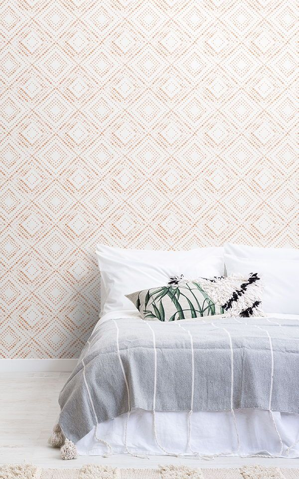 diamond dot pattern wallpaper mural in 2019 bedroom2018 patternbe inspired by these sweet boho bedroom ideas and create a free spirited space to rest and unwind this collection of boho wallpapers is sophisticated and