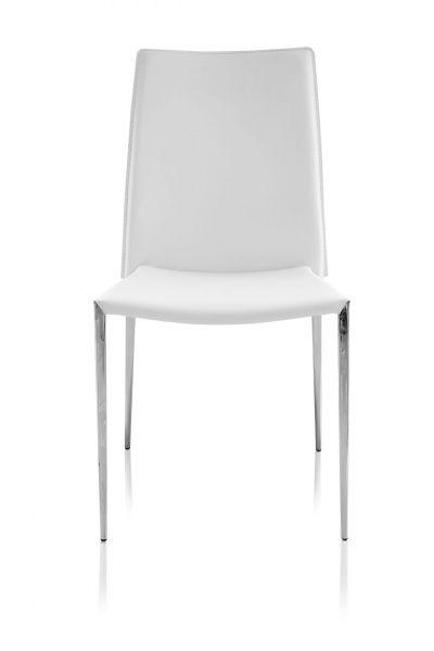 Contemporary white dining chairs Glass Nova Contemporary Dining Chair White Pinterest Nova Contemporary Dining Chair White New House Ideas Pinterest