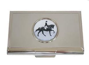 The paddock room galleries dressage horse and rider business card the paddock room galleries dressage horse and rider business card holder 1999 http colourmoves Choice Image