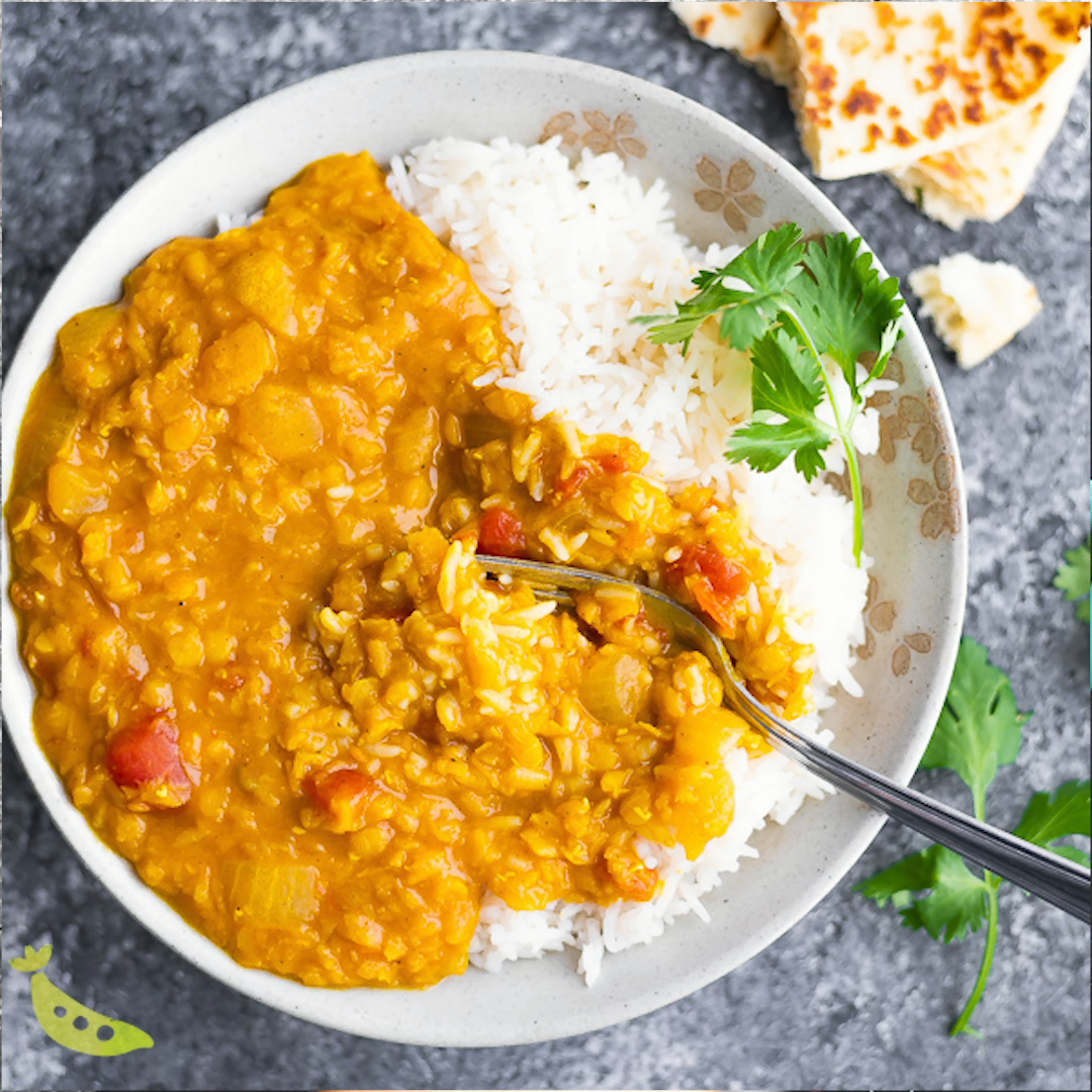 Easy Red Lentil Dal Recipe #indianfood
