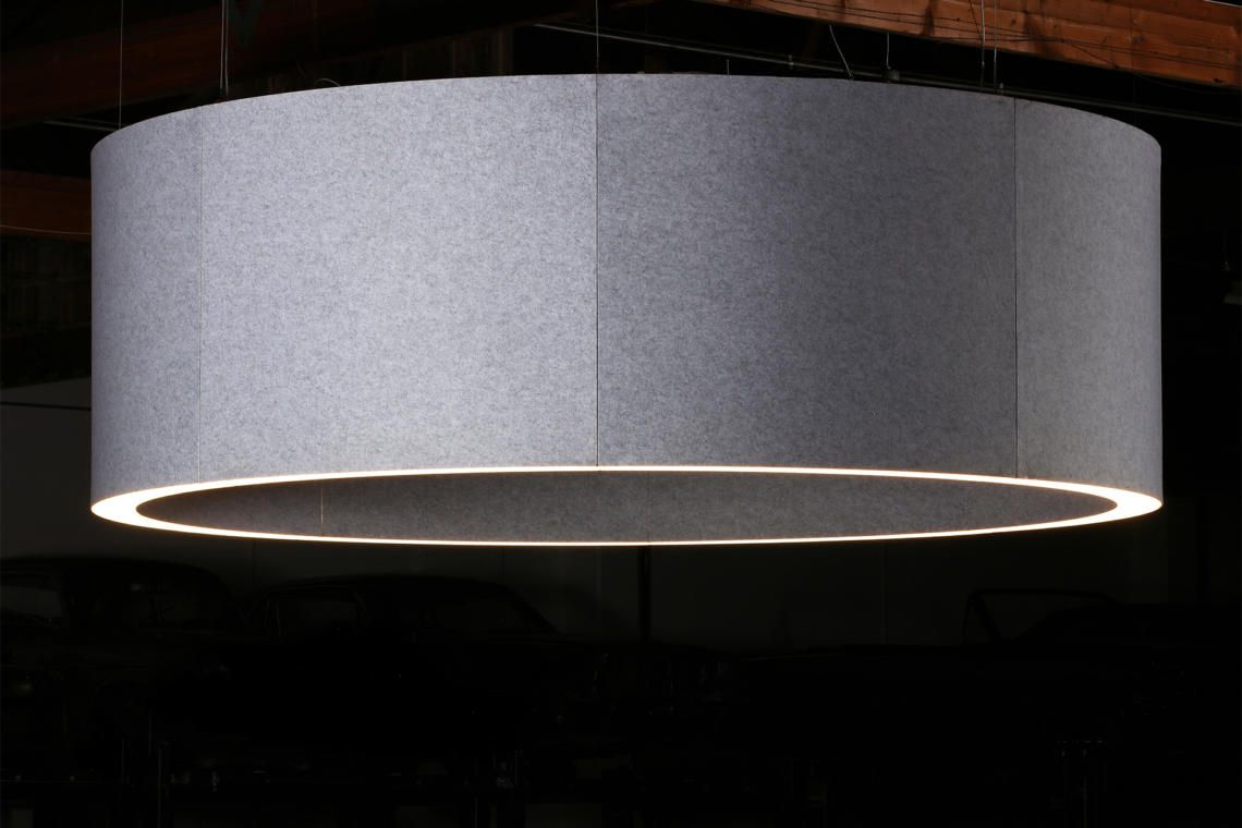 Lightart Acoustic Ring Lamp Shade Lamp Acoustic