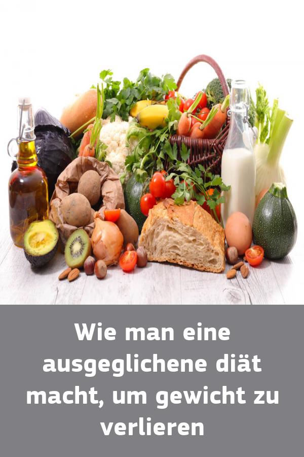 Wie man eine gute Diät macht