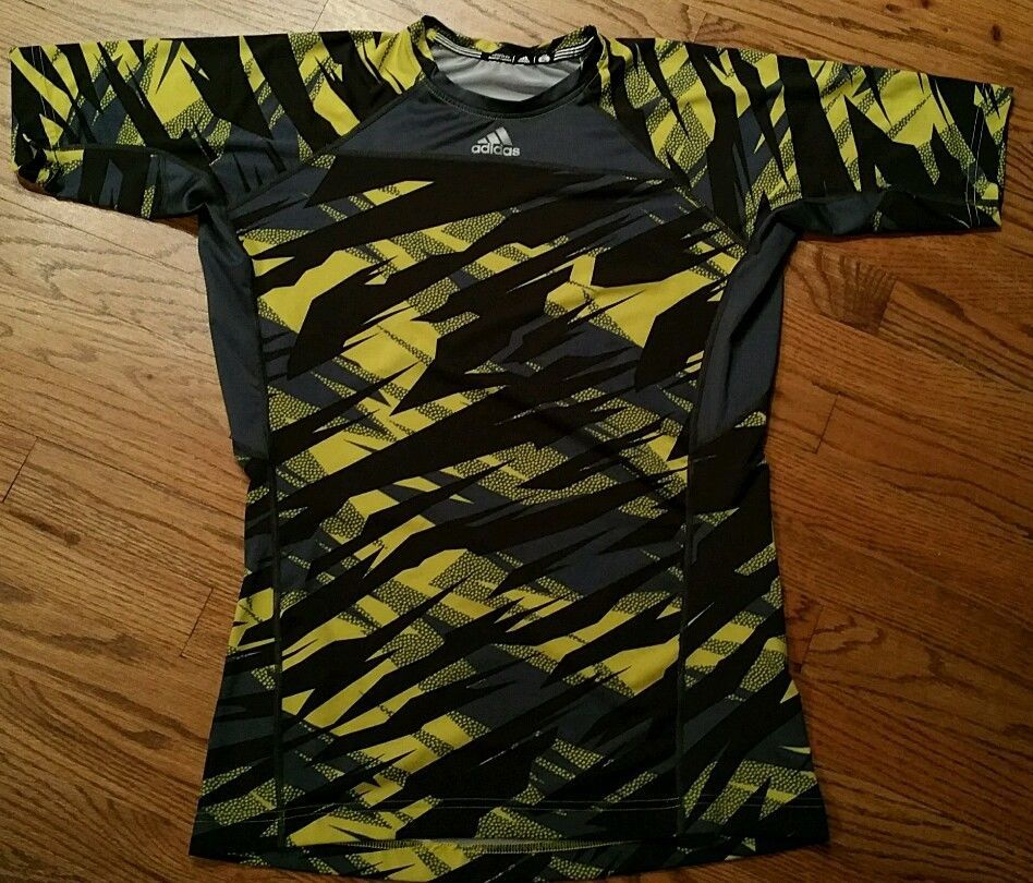 Adidas TechFit Camiseta de manga Camiseta de larga de para hombre Gran carrera de ciclismo de fútbol 8b6e85c - grind.website