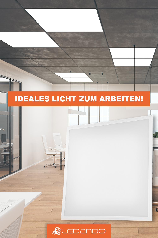 36w Led Premium Panel 62 X 62 Cm Ugr 19 Auch Passend Fur Rasterdecken Eckig Quadratisch Rasterdecke Beleuchtung Led
