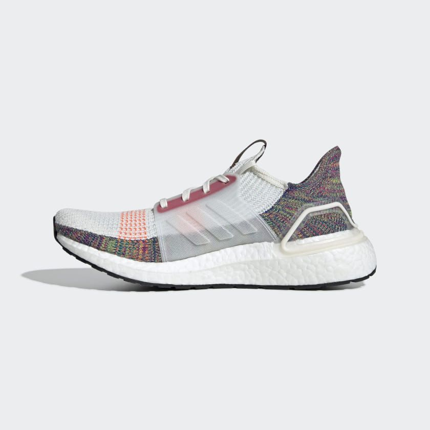 Ultraboost 19 Pride Shoes Running White / Scarlet / Bright Yellow ...