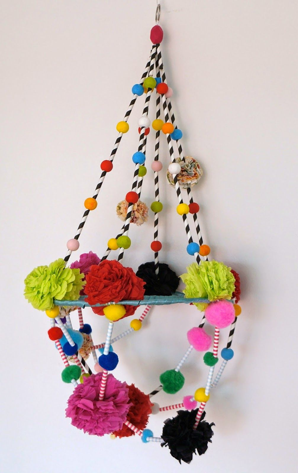 Minimal Boho: DIY: Polish pajaki chandelier   Craft Ideas ... for Paper Chandelier Craft  155fiz