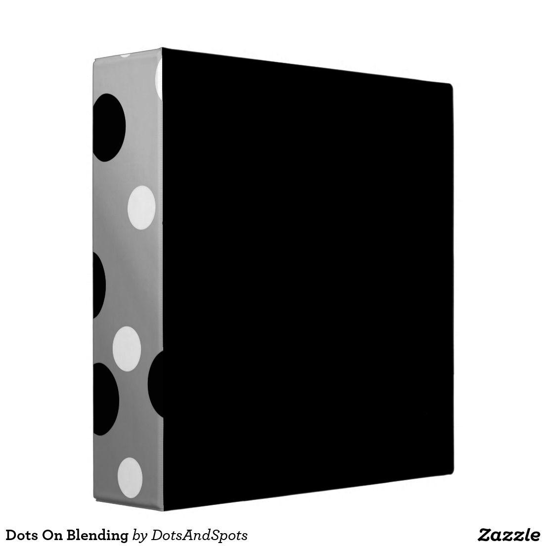 Dots On Blending Vinyl Binder