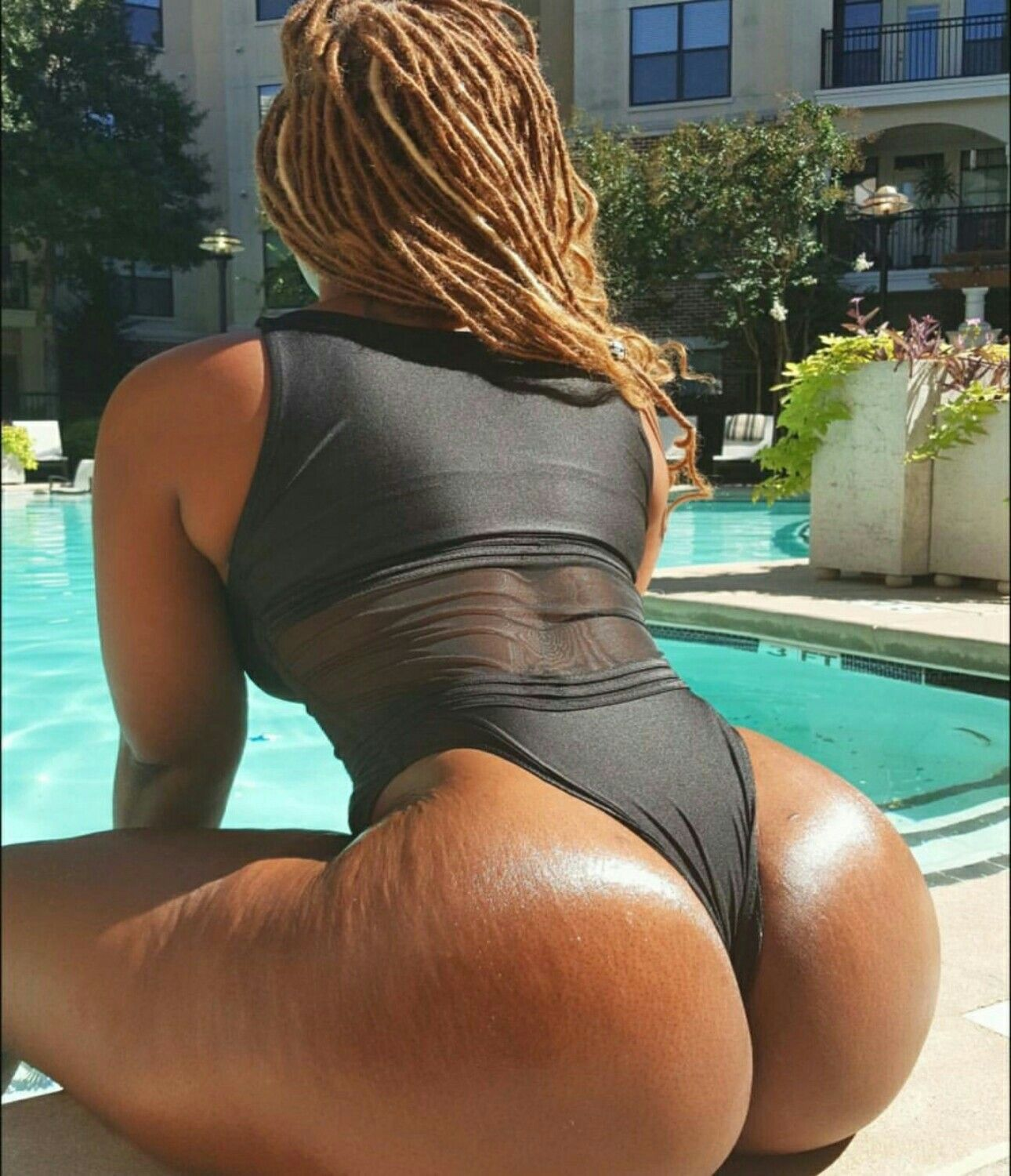 Black With Fat Ass