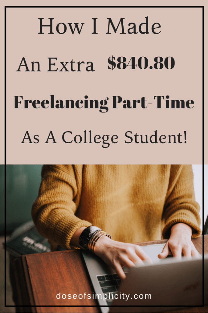 000 How I Made an Extra 840.80 Freelance Writing PartTime as