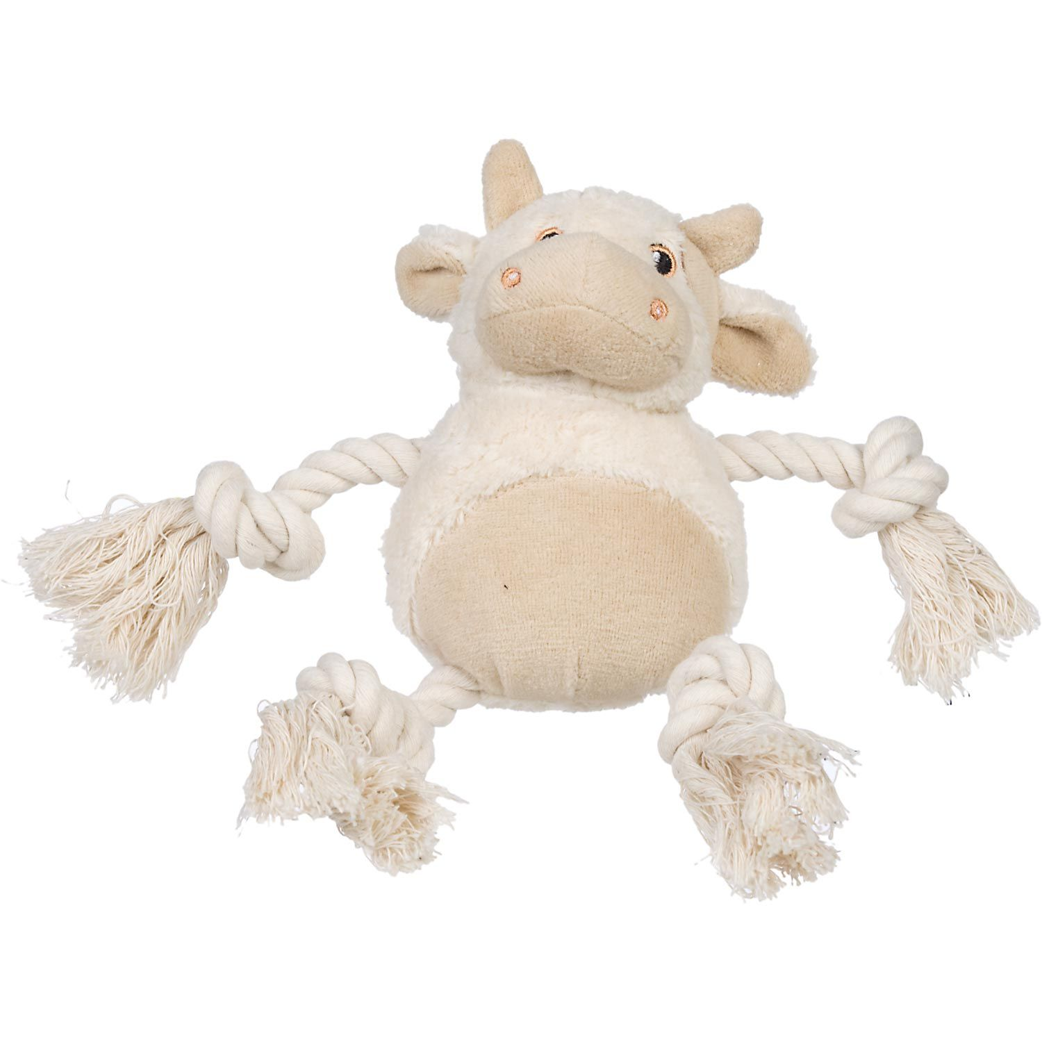 Planet Petco Plush Cow Or Lamb With Rope Legs Dog Toy With Images